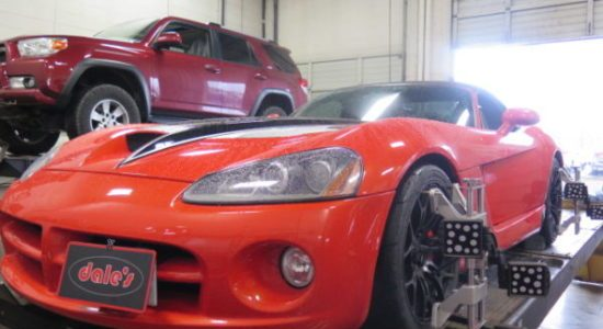 Dales Auto Service can Perform Custom Wheel Alignments on your Modified Car or Truck