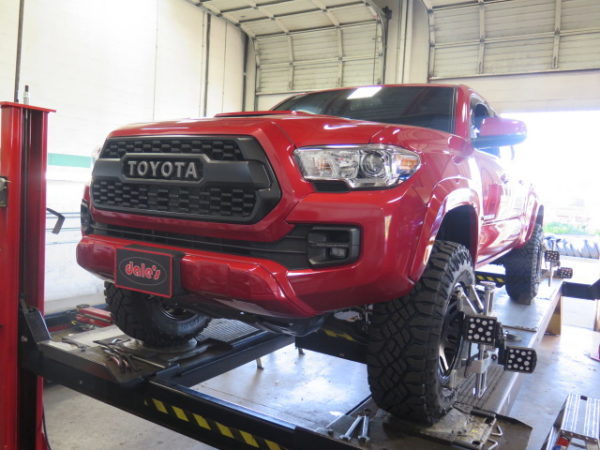 Toytec Boss Performance Suspension System for 16+ Tacoma at Dales Auto Service