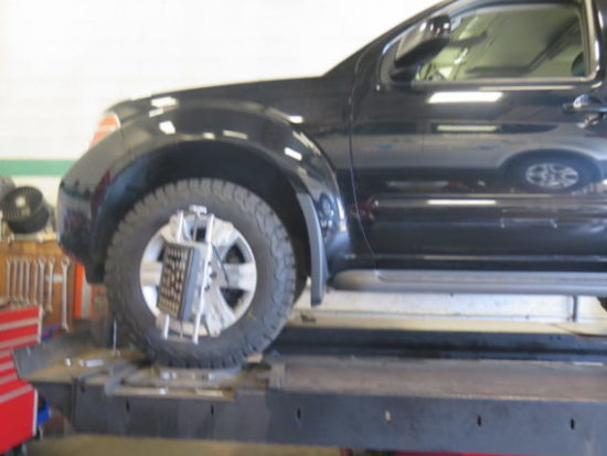 Nissan X-Terra in for Rancho quickLift Struts, Rear Shocks and Rear Airbags
