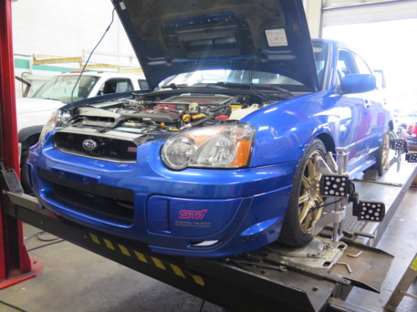 '04 STi in for Bilstein Coilovers, Invidia Catback and COBB CAI and Shifter Bushings
