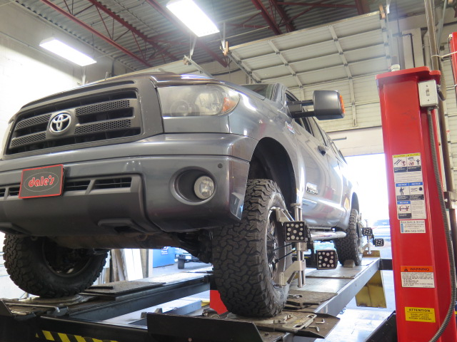 Tacoma at Dales Auto for Bilstein 5100