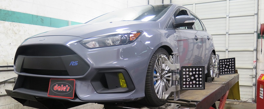 Ford Focus RS in for Lowering Springs and Larger Rear Swaybar