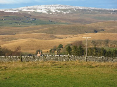 Scoured by glaciers: Ribblesdale