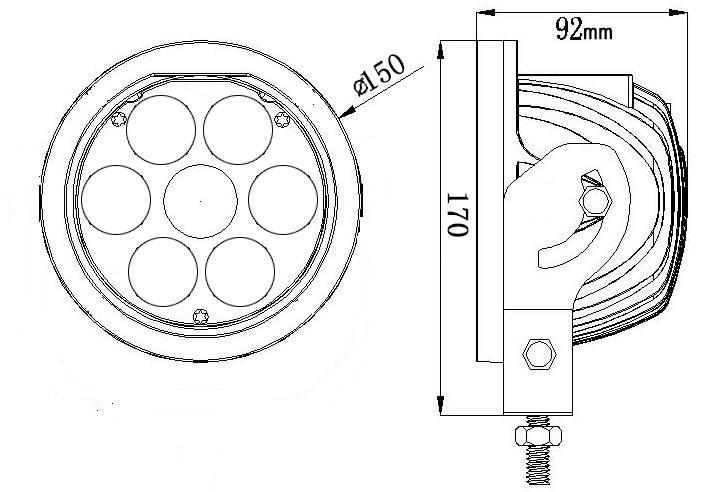 Jk Light Bars For Round Light