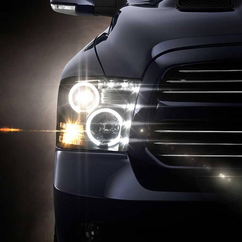 Dodge Ram Halo Projector Headlights