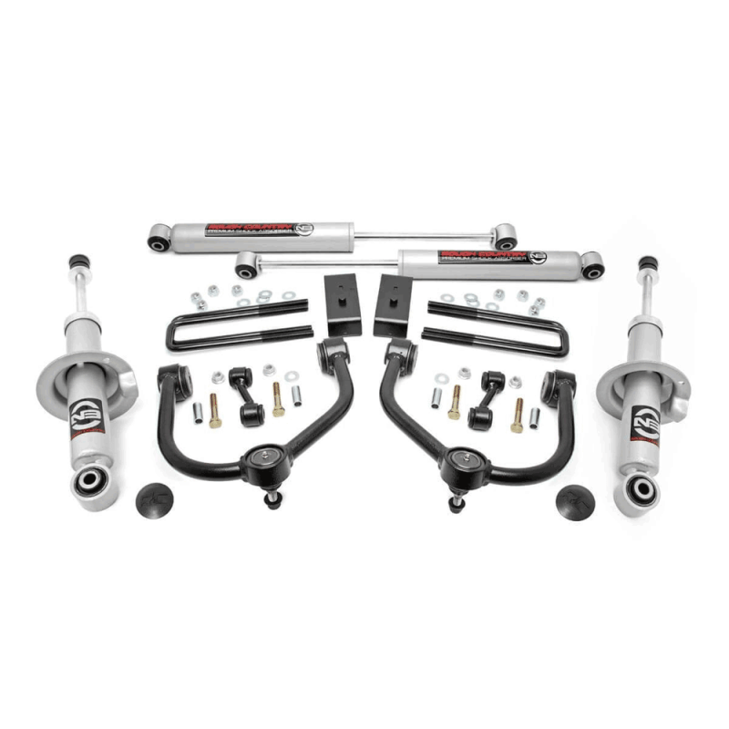 Rough Country 3in Bolt-On Lift Kit w/Lifted Struts & N3