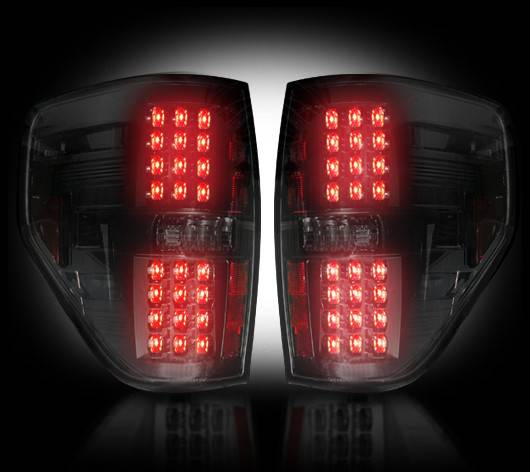 Ford F150  Raptor 200914 Recon Smoked Headlights  Tail
