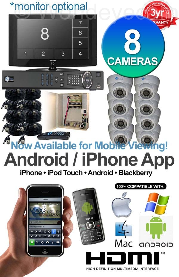 Home Camera Video Security System