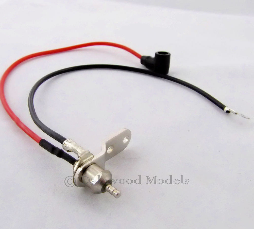hight resolution of remote glow plug adapter with negative wire rc plane helicopter