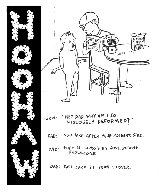Hoo-Haw by Andrea Flockhart, from Gazette issue 144-19