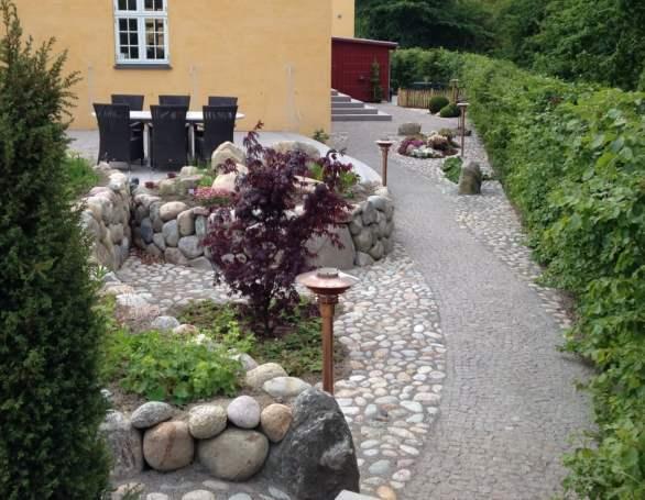Stilfuldt haveanlæg