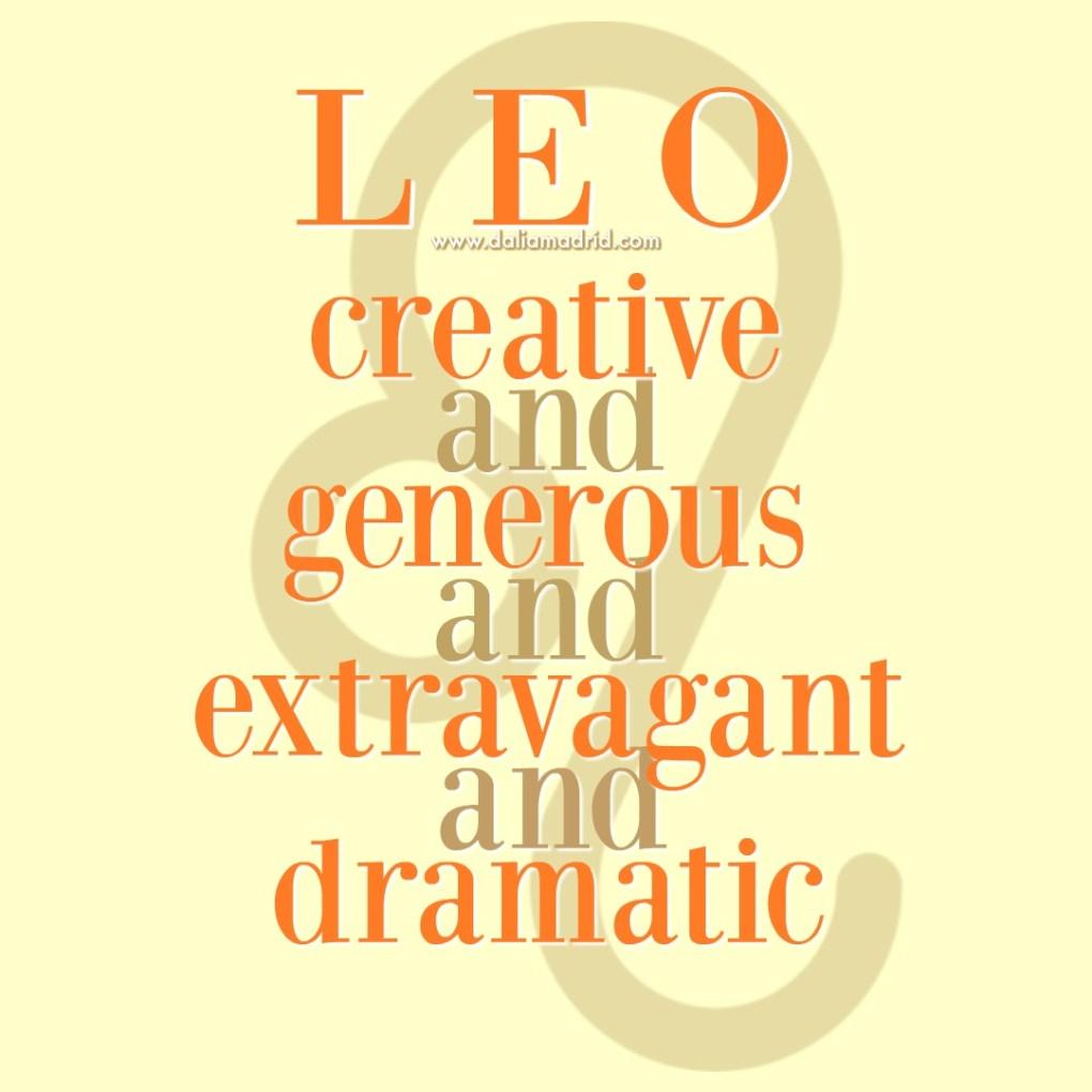 Leo Qualities