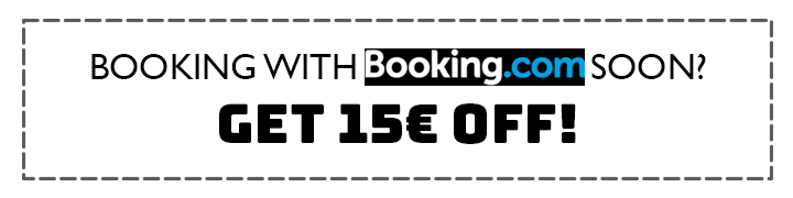 Save 15 EUR with this Booking.com discount voucher
