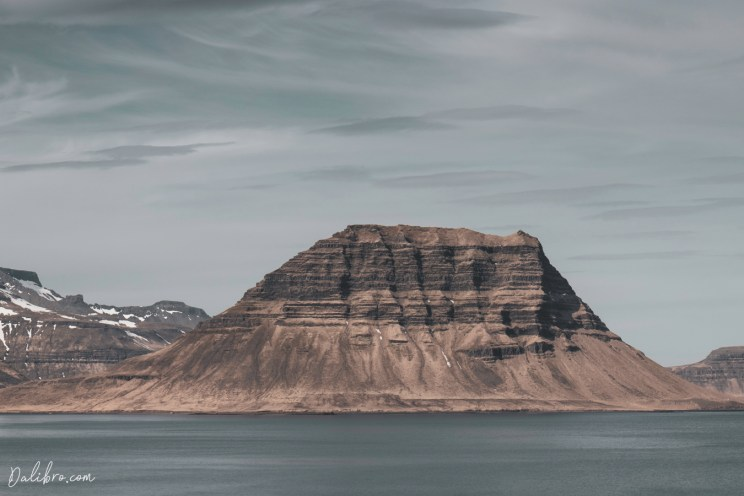 Mount Kirkjufell from the other side, before it transforms into what we know