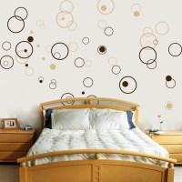 Circles - Bubbles - Set of 72 - Vinyl Wall Decals