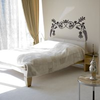 Royal Ornate Headboard Wall Decal Sticker Graphic