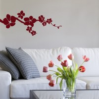 Simple Orchids - Wall Decals Stickers Graphics