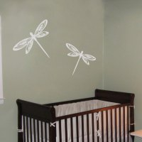 Pretty Dragonflies - Set of 4 - Wall Decals