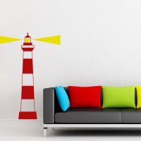 Lighthouse Wall Decal - l Wall Decal