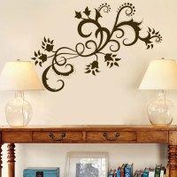 Paisley Wall Decals - paisley swirls flowers vinyl wall ...