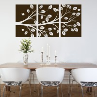 Tree Branch - 3 Panel - Wall Decals
