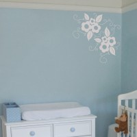 Vintage Flower - Wall Decals Stickers Graphics
