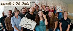 The Dali Decals Crew
