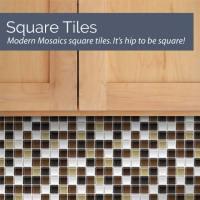 Mosaic Tile Decals | Tile Design Ideas
