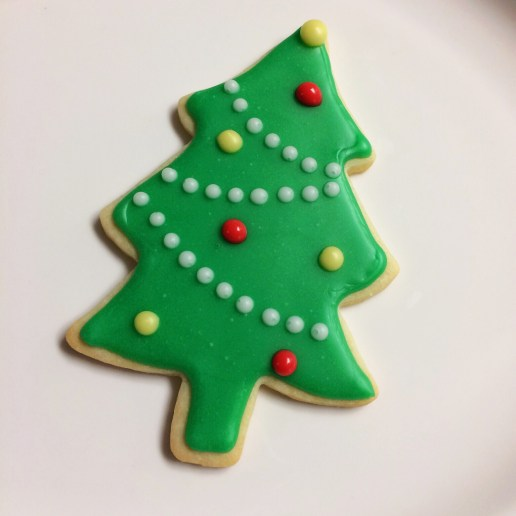 Christmas Tree Cookie / © Dallas Bakes! 2013