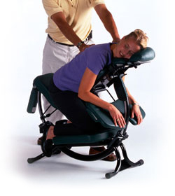 Park Central Chiropractic chair massage
