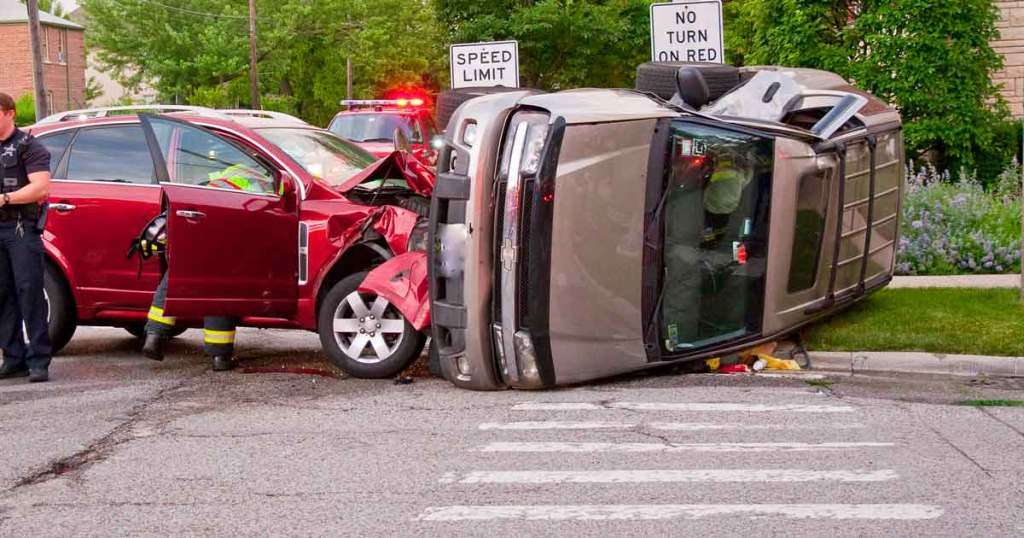 Side impact to passenger side of vehicle, can call a Dallas side-impact accident attorney