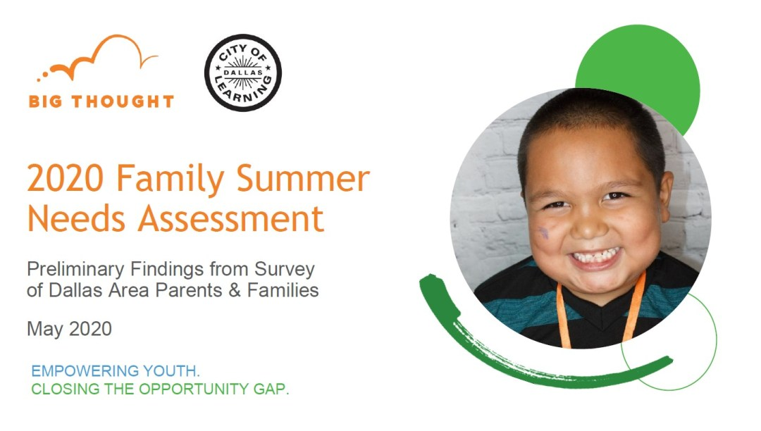 FamilyNeeds Survey Preliminary Report