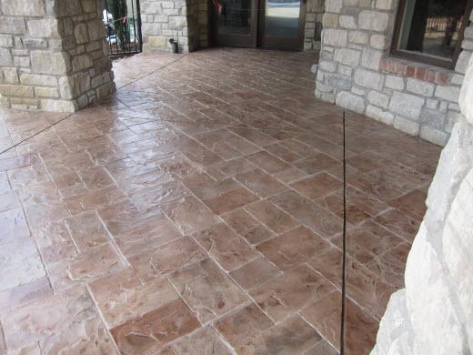 stamped concrete dallas installer