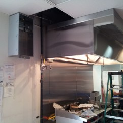 Kitchen Hood Fire Suppression System Installation Frameless Cabinets Systems In Houston Texas Area