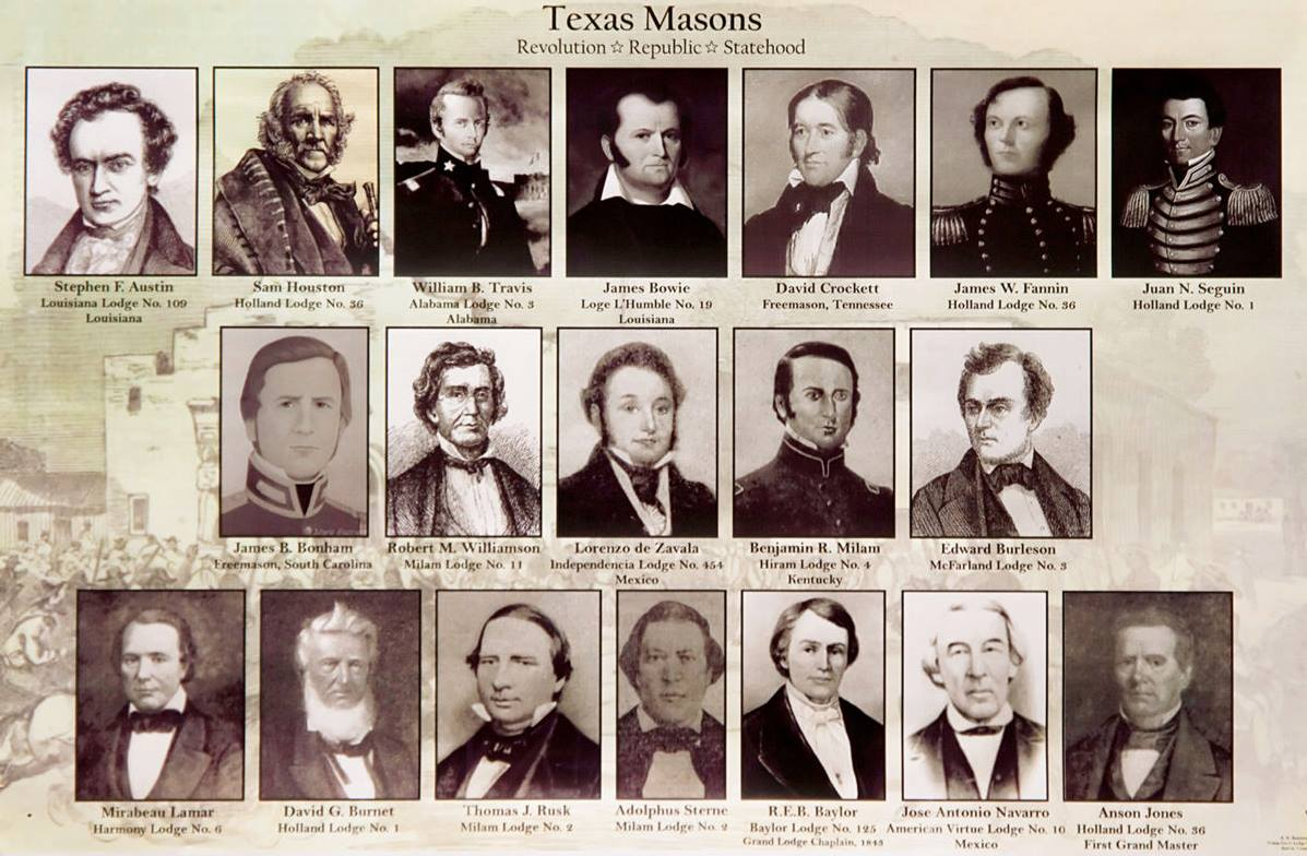 Famous Texas Freemasons  Dallas Freemasonry
