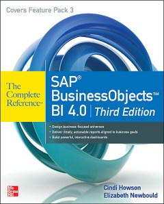 Cindi Howson BusinessObjects Complete Reference Third Edition