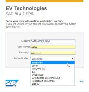 SAP BusinessObjects 4.2 SP5 BI Launch Pad customization