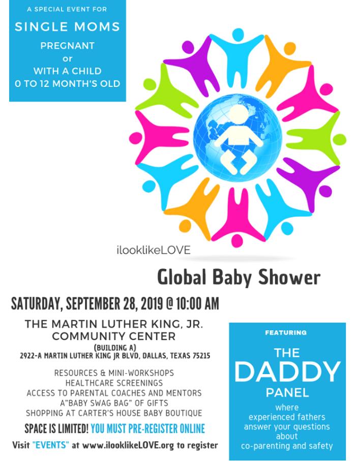 Global Baby Shower @ MLK, Jr. Community Center