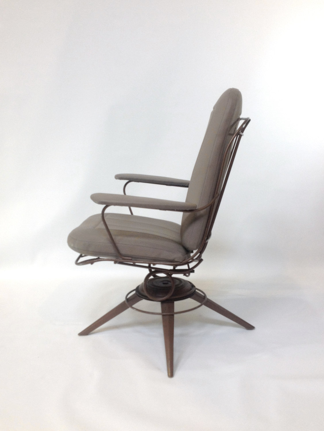 Mid Century Wire Chair Mid Century Modern Rocking Chair Pair Of Mid Century