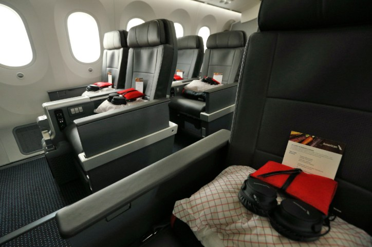 Take A Look At The Roomier Seats In American Airlines