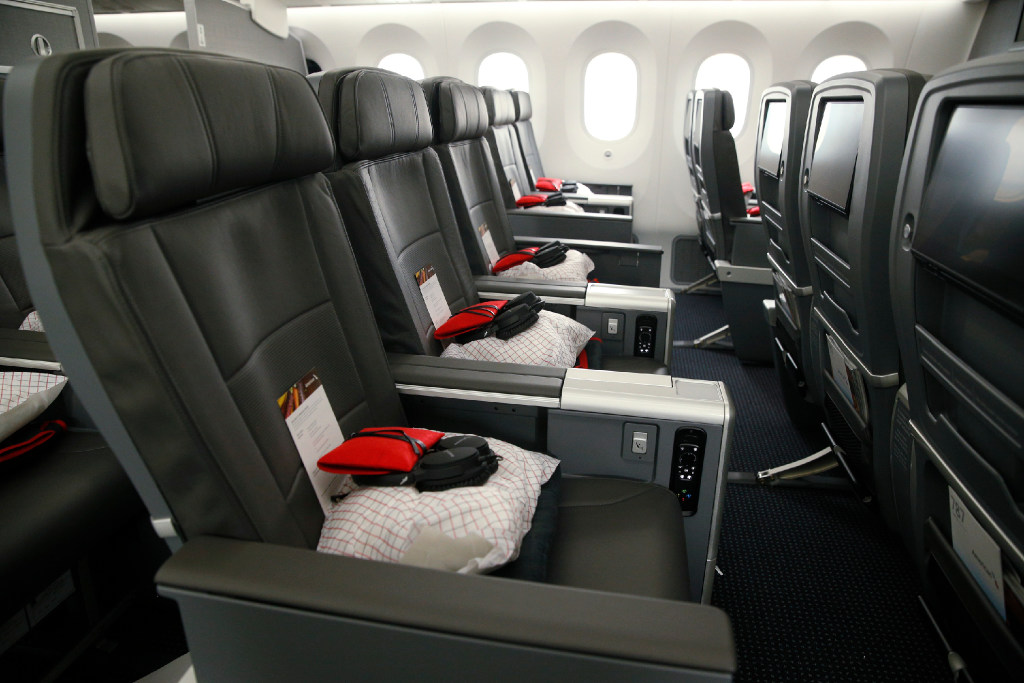 american marketing chair covers hawaii pink canopy airlines brings roomier premium economy seats to dfw flights