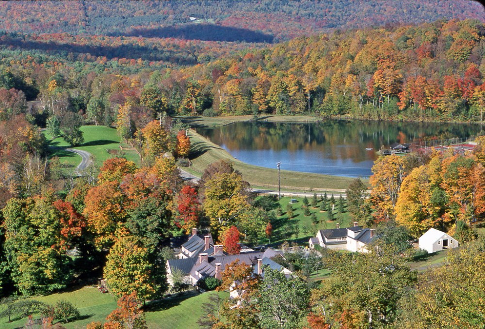 Barnard, Vermont, is home to Twin Farms, an all-inclusive resort in the Vermont mountains. (Twin Farms)