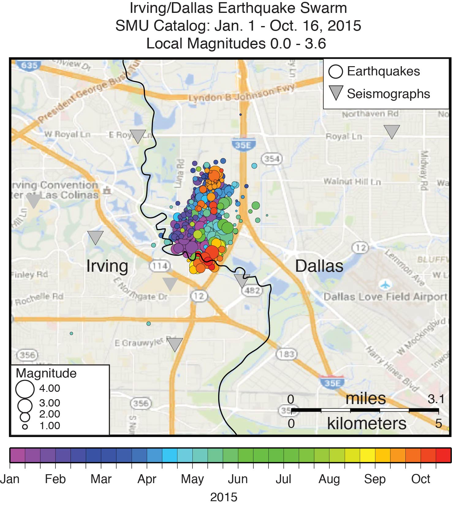 Map Of Fault Lines In Texas