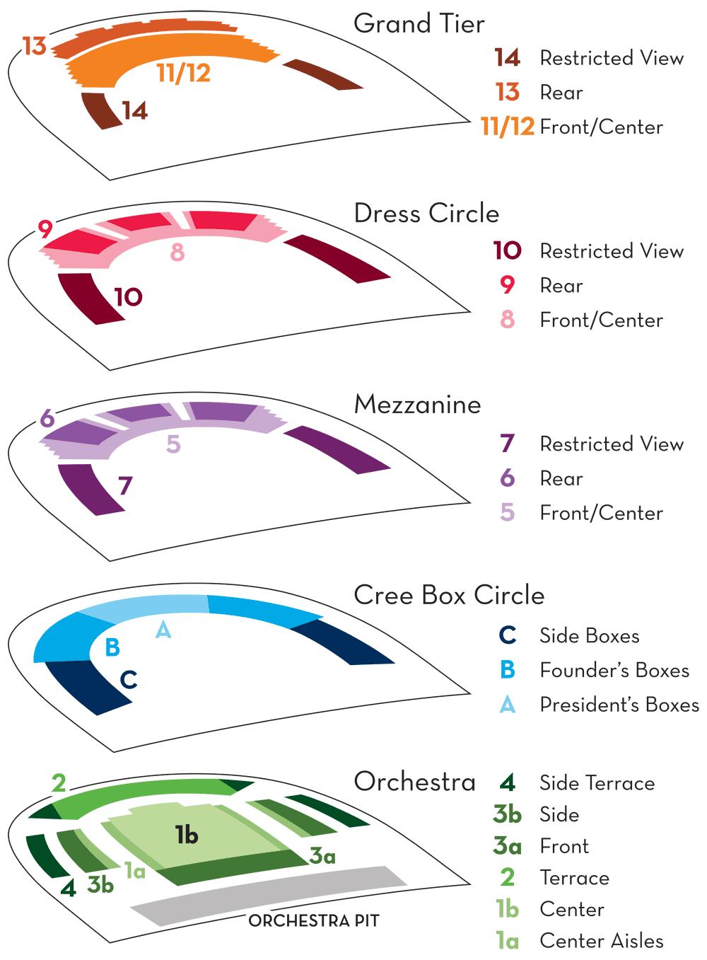 At T Center Seating Map : center, seating, Seating, Dallas, Opera