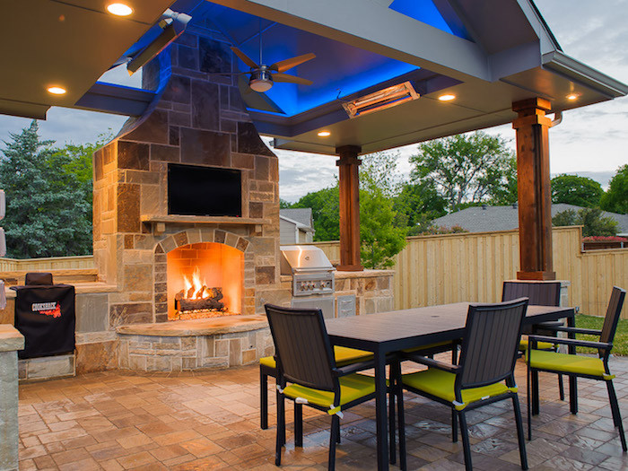 Dallas Outdoor Kitchens Gallery Of Outdoor Living