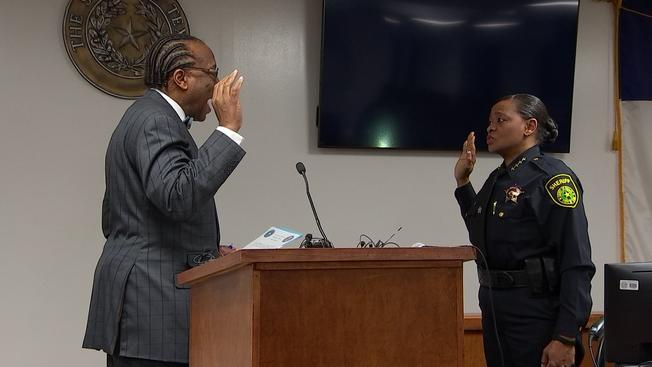 Sheriff Marion Brown and Dallas County's New District