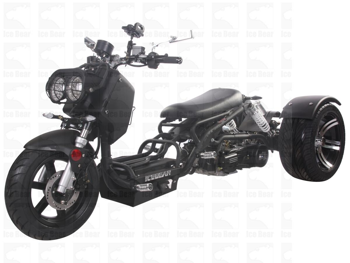 hight resolution of icebear maddog trike 150cc pst150 19n free shipping birdy s scooters atv s