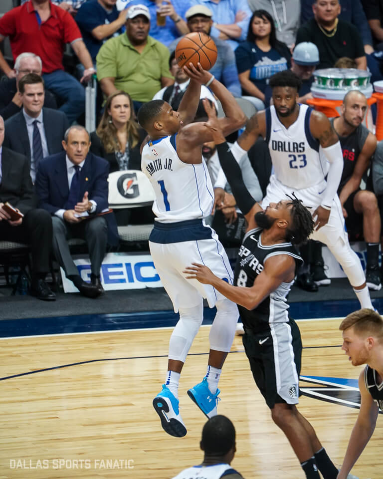 Dennis Smith Jr. eases pain of team tank