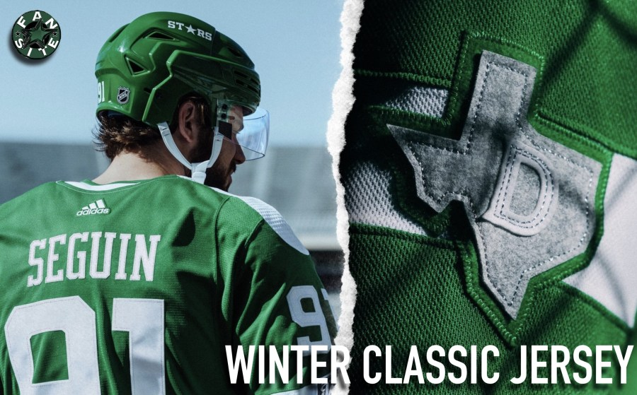 Dallas Stars Winter Classic Jersey - main