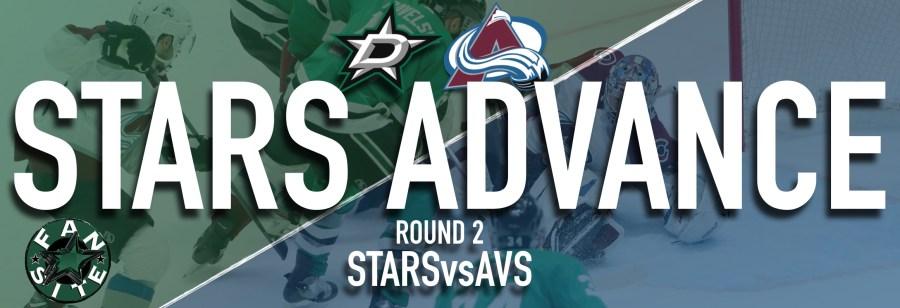 Dallas Stars Advance vs Colorado
